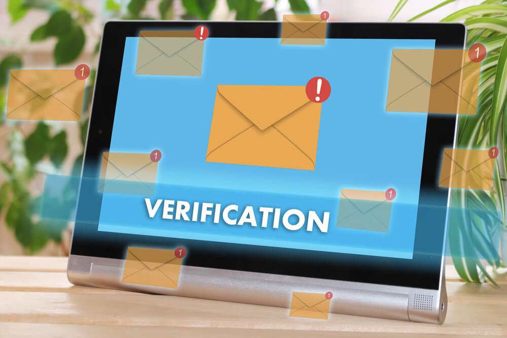 Email verification: spam stories, part 1