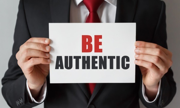 Make sure that your messaging is authentic